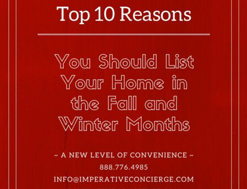 Top 10 Reasons You Should List Your Home in the Fall/Winter Months